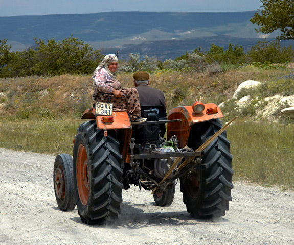 Couple On Tractor : Months picture photos from around the world